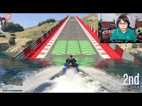 GTA 5 Online - ROKET ARABALARLA YARIŞMAK ! - Ruslar.Biz