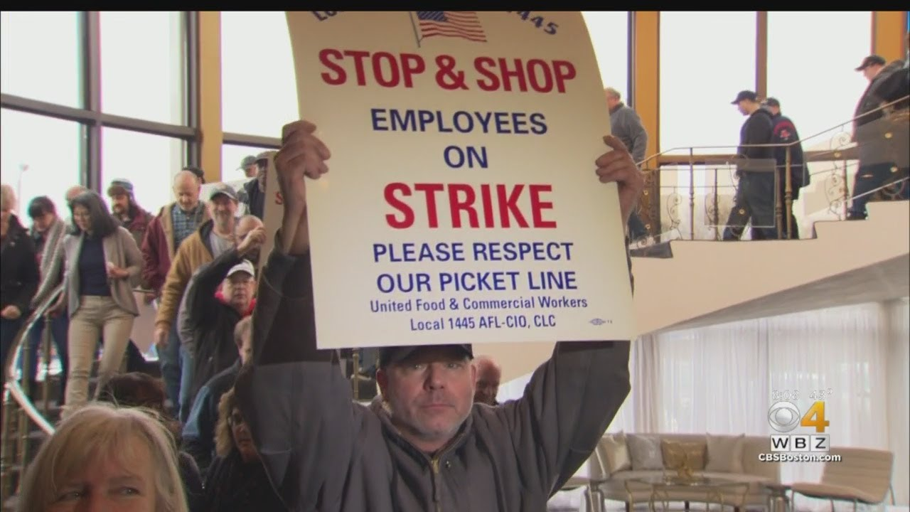 Thousands Of Stop & Shop Workers Go On Strike Across New England