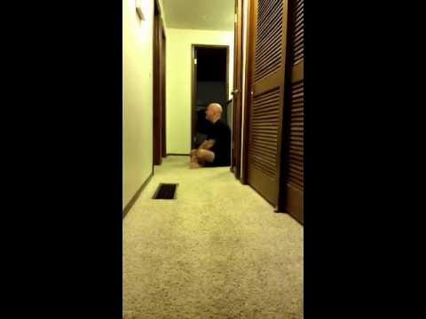 Michael Doss sings bedtime songs for his girls
