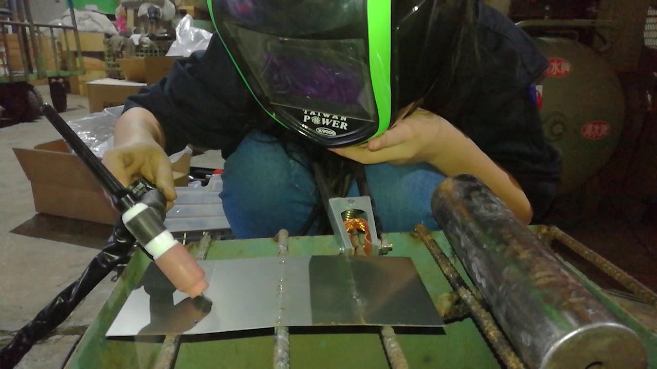 【TAIWAN POWER】清水牌 TIG200A 氬焊機 女孩輕鬆焊接薄片 二部曲 歡迎來讓我們為您免費 焊接教學 清水牌製造廠 ...