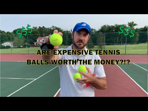 Are Expensive Tennis Balls Worth It??? Tennis Ball Review!