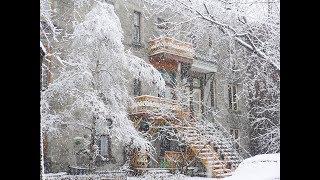 Канада 1290: Снежное утро под французский язык