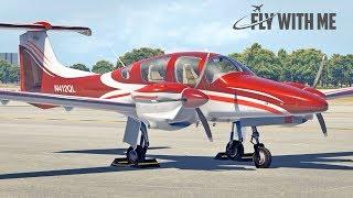 X-Plane 11 - Aerobask DA-62 in Daytona