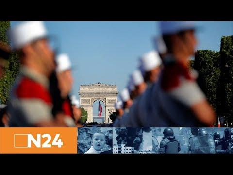 N24 Nachrichten - Ehrengast Donald Trump: Militärparade zum französischen Nationalfeiertag
