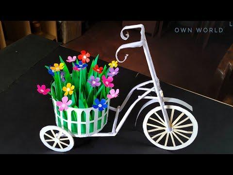 DIY Paper Basket : How to Make Easy Paper Basket for Chocolates | Christmas Gift Basket