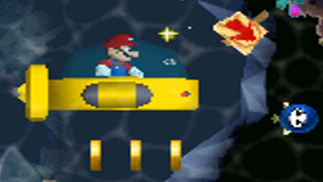 Sarasaland Advance Demo - World 2 Playthrough (New Super Mario Bros  DS  Rom-Hack)