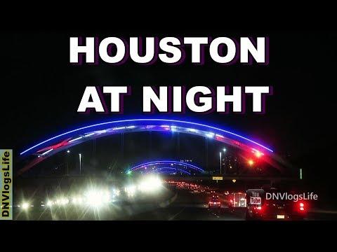 Houston Texas at Night