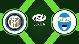 Интер 2 1 СПАЛ Итальянская Серия А 2019 20 14 й тур