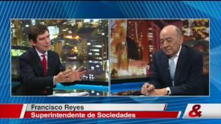 Pregunta Yamid: Francisco Reyes, Superintendente de Sociedades