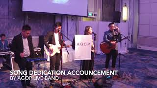 SONG DEDICATION ACCOUNCEMENT by AGOP
