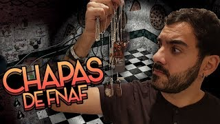 ABRIENDO CHAPAS MILITARES OFICIALES DE FIVE NIGHTS AT FREDDY'S ⭐️(FNAF Unboxing) | iTownGamePlay