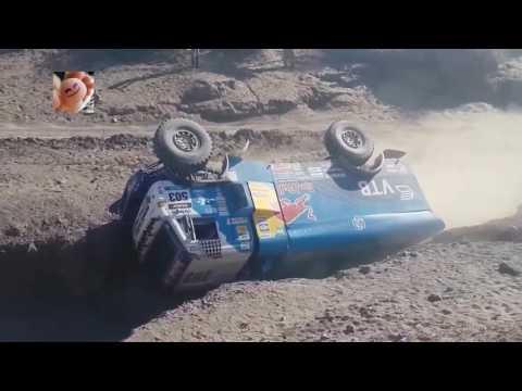 Rally Dakar - 5 IMPRESIONATES vuelcos en el mismo lugar! THIS IS DAKAR!