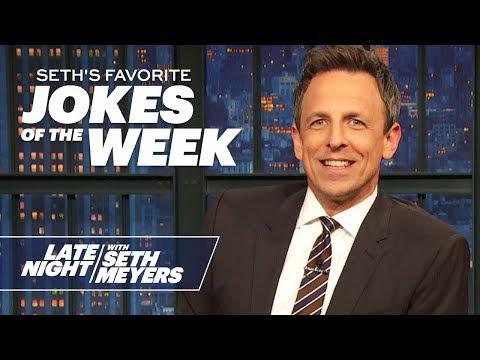 Seth's FavoriteJokesoftheWeek: Biden In Iowa, Trump Responds To Iran Retaliation