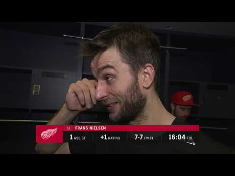 Red Wings LIVE 12.19.17: Frans Nielsen