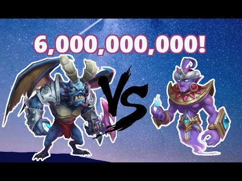 Castle Clash - Deflect Damage/Summon Monsters!