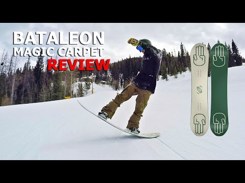 Save 10 Butter Tricks & Bataleon Magic Carpet Snowboard Review Pictures