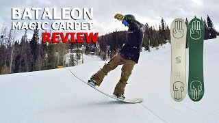 10 Butter Tricks & Bataleon Magic Carpet Snowboard Review