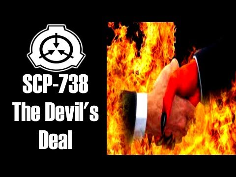 SCP-738 The Devil's Deal | Object Class: Keter | Probability scp / furniture scp