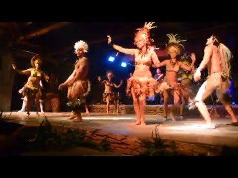 Traditional Rapa Nui Dance on Easter Island - Part 1