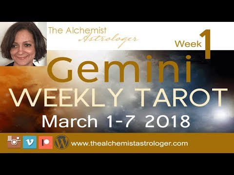 "Gemini March 1-7 2018/Week 1 General Tarot Reading - ""Peace out"""