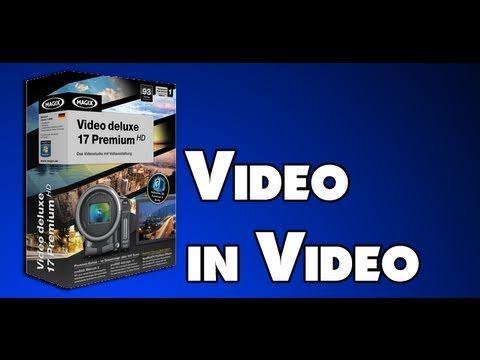Magix Video Deluxe 17 - Tutorial - Video in Video // Deutsch | German