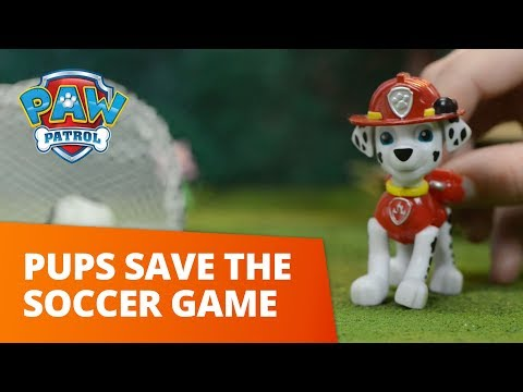 PAW Patrol  Pups Save the Soccer Game  Toy Episode