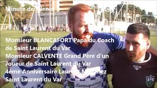 Rugby Honneur US Mourillon vs Saint Laurent du Var Avant-Match Championnat Live TV 2018/2019