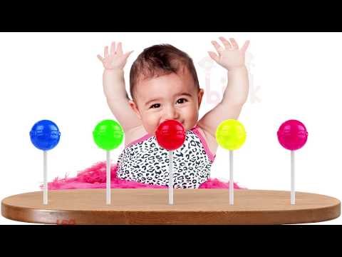 Thumbnail: Bad Baby Zombie Lolipops Finger Family Colors Learn | Kids Song