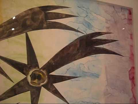 Francesco Clemente at Jeffrey Deitch-2, NYC (May 2009)