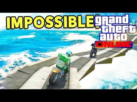 GTA 5 Impossible Ocean Race!! RAGE ON THE SEA & HEAVY HURRICAN (ROAD TO 2K)
