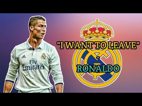 Why Cristiano Ronaldo Wants To Leave Real Madrid (You Won't Believe Why) ▪ November 2017