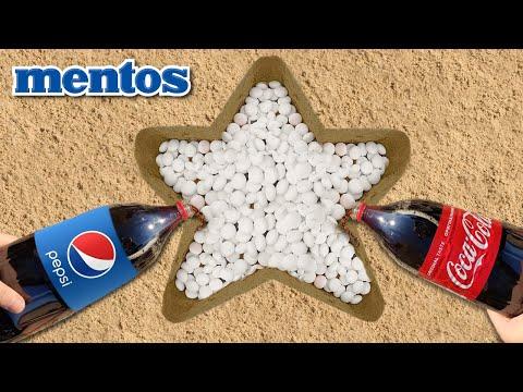 Coca Cola & Colgate Vs Mentos Underground! SUPER Reaction!