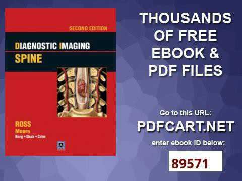 Spine diagnostic pdf imaging