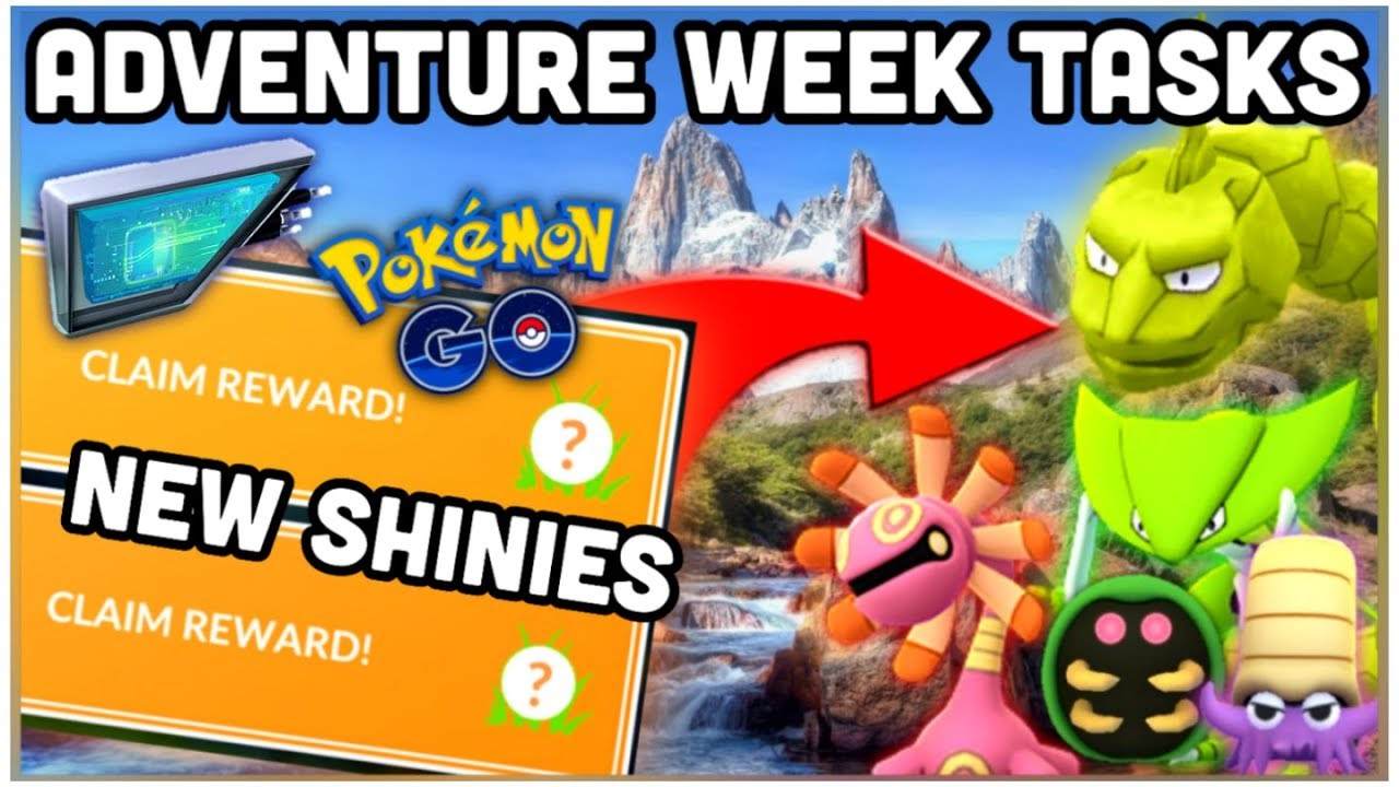Adventure week tasks in Pokemon GO | Worlds meta pvp | Legendary raid hour  & more