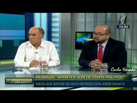 N Portada 23/02 C. Tapia y D. Columbus: Jorge Barata entregó US$3 millones a Nadine Heredia