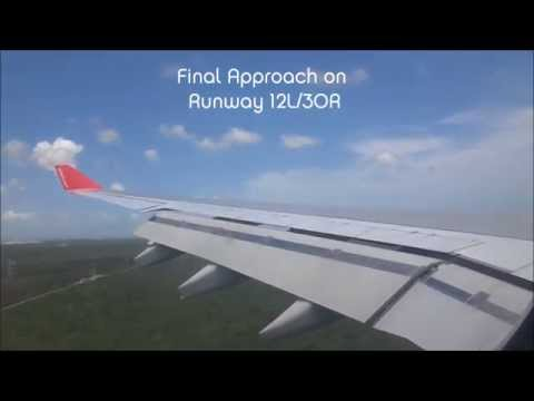 Flight To Cancún / Flug Nach Cancun