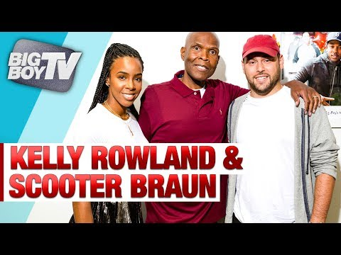 Kelly Rowland & Scooter Braun on Their Hand in Hand Hurricane Harvey Telethon