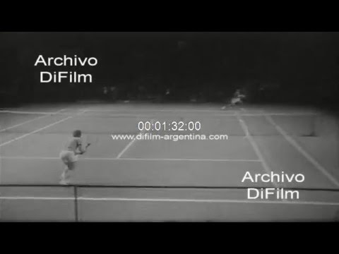DiFilm - Mark Cox vs Brian Fairlie - Grand Prix London WCT 1973