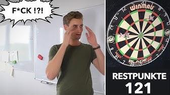 Bestes Trainingspiel: 121 Darts Game zum Check-Out Wege trainieren - myDartpfeil