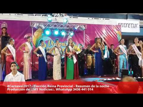 Reina Provincial del Carnaval .::MY Noticias::.