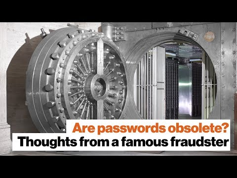 Are passwords obsolete? Thoughts from a famous fraudster | Frank W. Abagnale