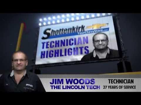 Jim Woods - Technician Highlights | Shottenkirk Chevrolet