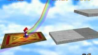 Lets Play Super Mario 64 #28 - Rainbow Rage