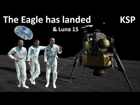 Space Race KSP - Apollo 11 - Making History