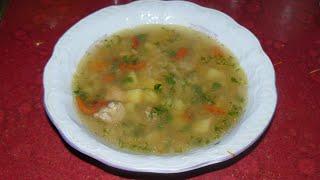 Суп с чечевицей и мясом. Рецепт чечевичного супа без зажарки.