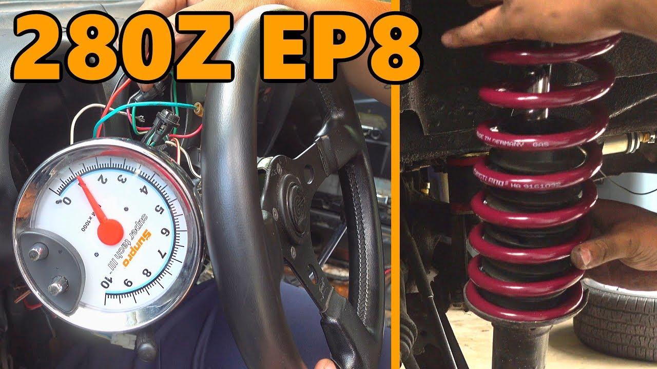 Datsun 280z Suspension Upgrades (Ep 8)