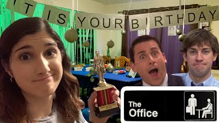 """Most Elaborate """"The Office"""" Birthday Party Ever!!"""
