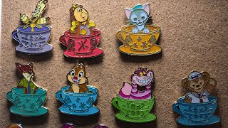 Hong Kong mystery teacups pin opening