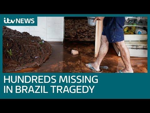 Hundreds still missing after Brazil dam collapses in Brumadinho | ITV News