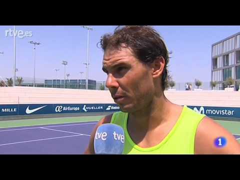 Rafael Nadal Interview for TVE in Manacor, 31 July 2017